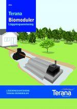 Läggningsanvisning Biomoduler TERANA AB-1
